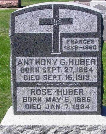 HUBER, ROSE - Howard County, Iowa | ROSE HUBER