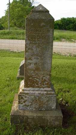 HUGHES, THOMAS W. - Howard County, Iowa | THOMAS W. HUGHES
