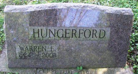 HUNGERFORD, WARREN E. - Howard County, Iowa | WARREN E. HUNGERFORD