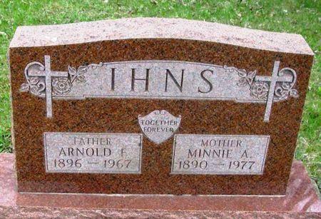 IHNS, ARNOLD F. - Howard County, Iowa | ARNOLD F. IHNS