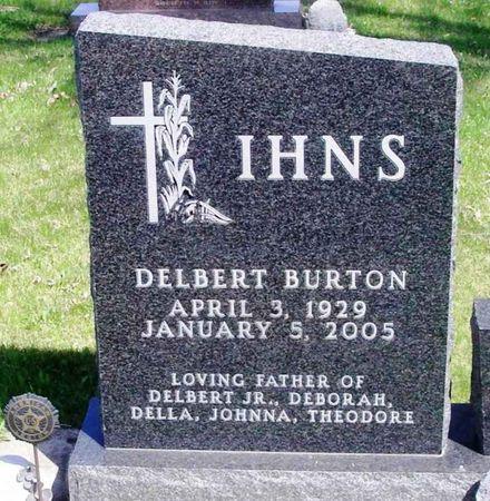 IHNS, DELBERT BURTON - Howard County, Iowa | DELBERT BURTON IHNS