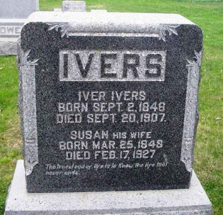 IVERS, IVER - Howard County, Iowa   IVER IVERS