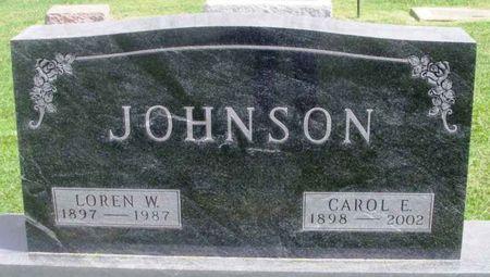 JOHNSON, LOREN W. - Howard County, Iowa | LOREN W. JOHNSON