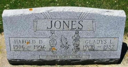 JONES, GLADYS L. - Howard County, Iowa | GLADYS L. JONES