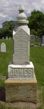 JONES, JOHNNIE - Howard County, Iowa   JOHNNIE JONES