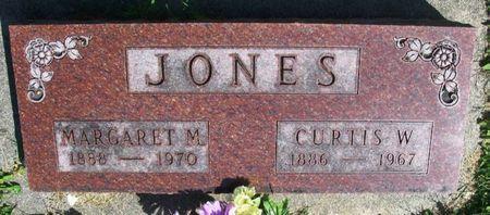 JONES, MARGARET M. - Howard County, Iowa   MARGARET M. JONES