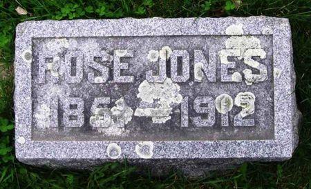 JONES, ROSE - Howard County, Iowa   ROSE JONES