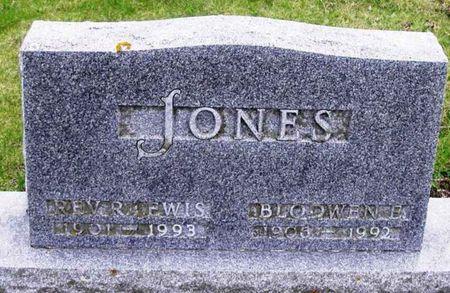 JONES, BLODWEN E - Howard County, Iowa | BLODWEN E JONES