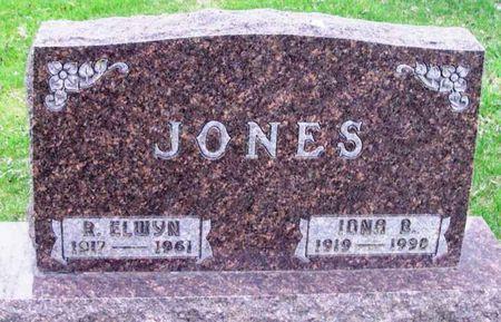 JONES, R. ELWYN - Howard County, Iowa | R. ELWYN JONES
