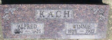 KACH, ALFRED - Howard County, Iowa | ALFRED KACH