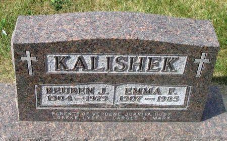 KALISHEK, EMMA F. - Howard County, Iowa   EMMA F. KALISHEK