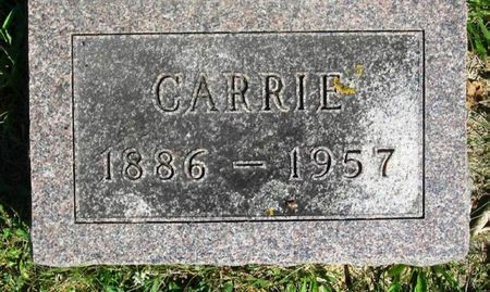 KINGSLEY, CARRIE - Howard County, Iowa | CARRIE KINGSLEY