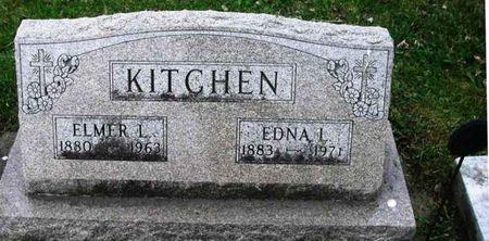 KITCHEN, EDNA L. - Howard County, Iowa | EDNA L. KITCHEN