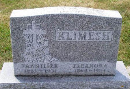 KLIMESH, FRANTISEK - Howard County, Iowa   FRANTISEK KLIMESH