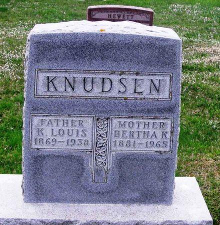 KNUDSEN, BERTHA K. - Howard County, Iowa | BERTHA K. KNUDSEN