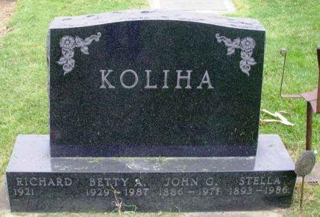 KOLIHA, RICHARD C. - Howard County, Iowa | RICHARD C. KOLIHA