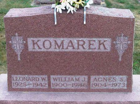 KOMAREK, AGNES S. - Howard County, Iowa | AGNES S. KOMAREK