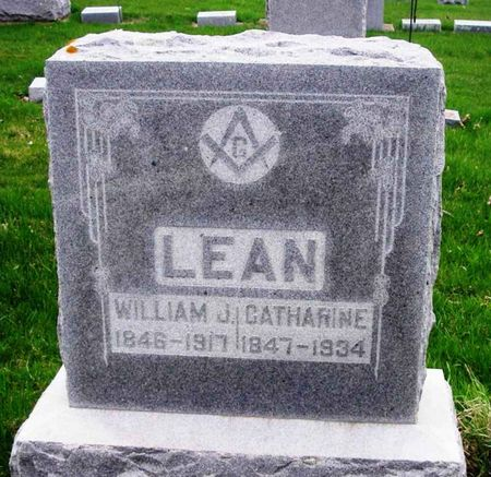 LEAN, WILLIAM J. - Howard County, Iowa   WILLIAM J. LEAN