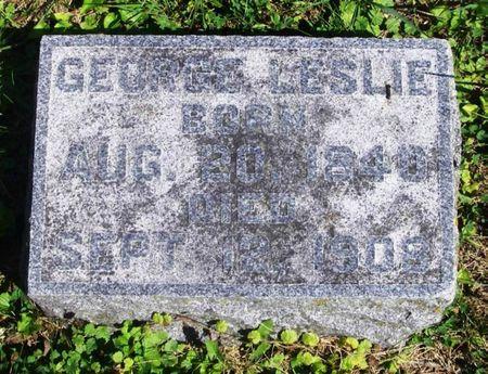 LESLIE, GEORGE - Howard County, Iowa   GEORGE LESLIE