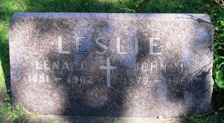 LESLIE, LENA J. - Howard County, Iowa | LENA J. LESLIE