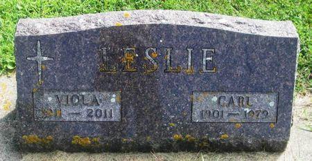 LESLIE, CARL - Howard County, Iowa   CARL LESLIE