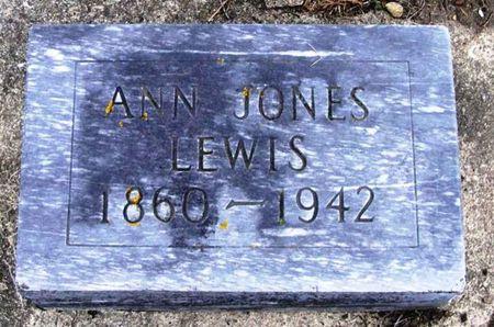 JONES LEWIS, ANN - Howard County, Iowa | ANN JONES LEWIS