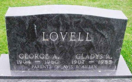 LOVELL, GLADYS A. - Howard County, Iowa | GLADYS A. LOVELL