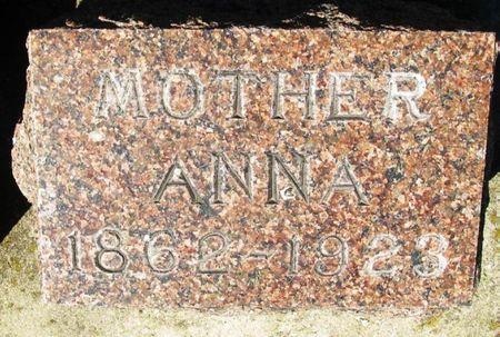 TUPY LUKES, ANNA - Howard County, Iowa | ANNA TUPY LUKES