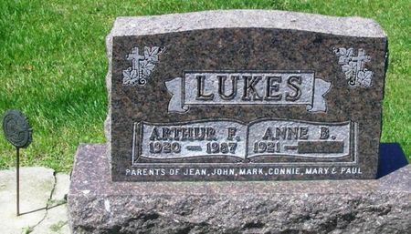 LUKES, ARTHUR F. - Howard County, Iowa | ARTHUR F. LUKES
