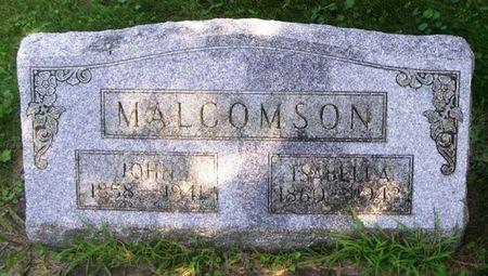 MALCOMSON, ISABELLA - Howard County, Iowa | ISABELLA MALCOMSON
