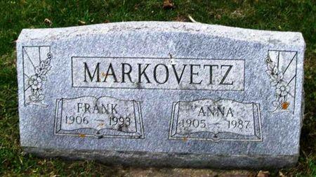 MARKOVETZ, FRANK B. - Howard County, Iowa | FRANK B. MARKOVETZ