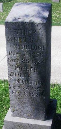 MCCULLOGH, ADRIEN G. - Howard County, Iowa | ADRIEN G. MCCULLOGH