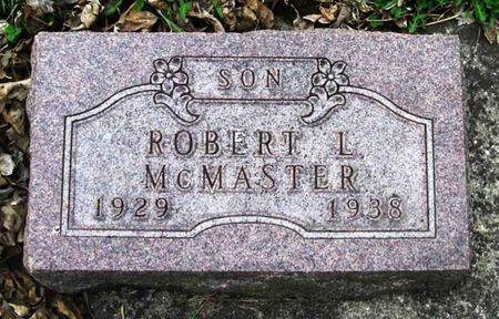 MCMASTER, ROBERT L. - Howard County, Iowa   ROBERT L. MCMASTER