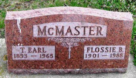 MCMASTER, T. EARL - Howard County, Iowa   T. EARL MCMASTER