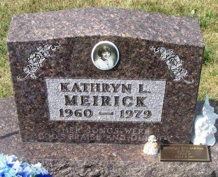MEIRICK, KATHRYN L. - Howard County, Iowa   KATHRYN L. MEIRICK