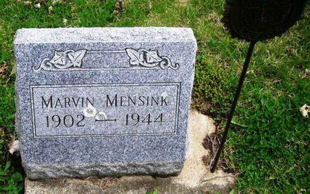 MENSINK, MARVIN - Howard County, Iowa   MARVIN MENSINK