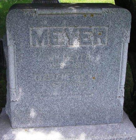 MEYER, GUSTINE - Howard County, Iowa   GUSTINE MEYER