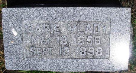 MLADY, MARIE - Howard County, Iowa | MARIE MLADY