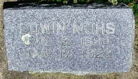 MOHS, EDWIN - Howard County, Iowa | EDWIN MOHS