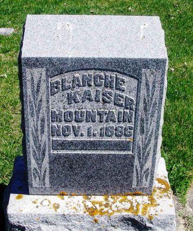 KAISER MOUNTAIN, BLANCHE - Howard County, Iowa | BLANCHE KAISER MOUNTAIN