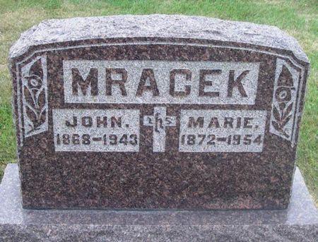 MRACEK, JOHN - Howard County, Iowa | JOHN MRACEK