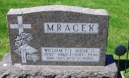 MRACEK, WILLIAM F. - Howard County, Iowa | WILLIAM F. MRACEK