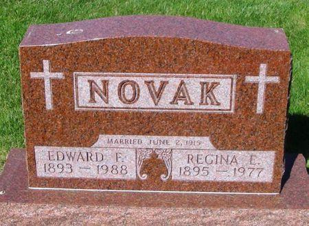 NOVAK, REGINA E. - Howard County, Iowa   REGINA E. NOVAK