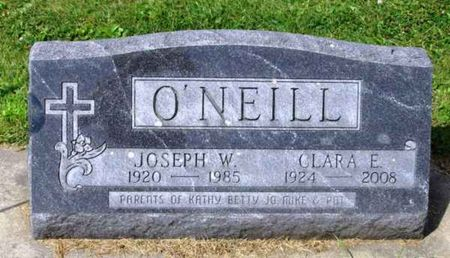 O'NEILL, CLARA E. - Howard County, Iowa   CLARA E. O'NEILL