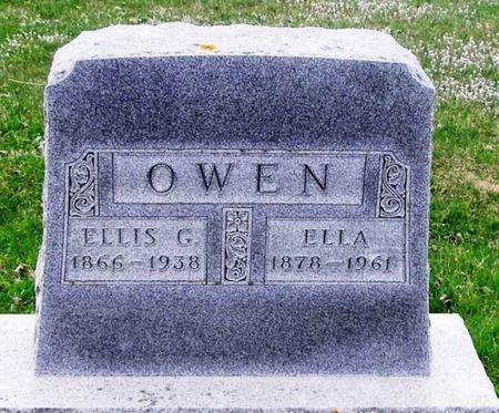 OWEN, ELLIS G. - Howard County, Iowa | ELLIS G. OWEN