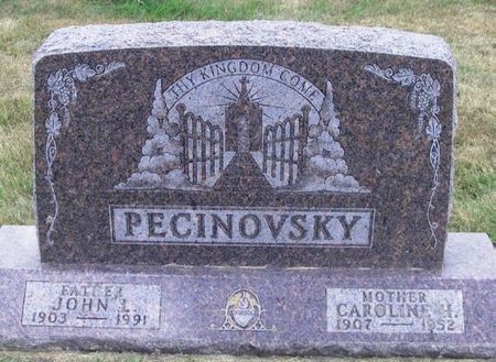 PECINOVSKY, CAROLINE H. - Howard County, Iowa   CAROLINE H. PECINOVSKY