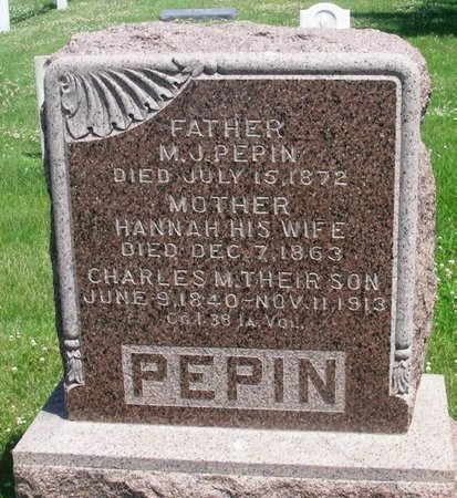 STRAWN PEPIN, HANNAH - Howard County, Iowa | HANNAH STRAWN PEPIN