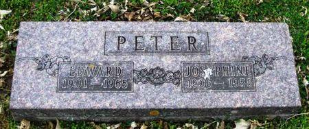 PETER, JOSEPHINE - Howard County, Iowa | JOSEPHINE PETER