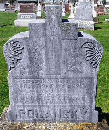 POLANSKY, FRANTISEK - Howard County, Iowa   FRANTISEK POLANSKY