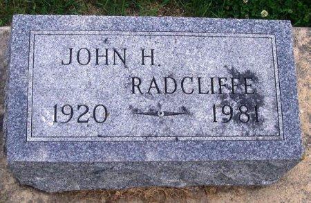 RADCLIFFE, JOHN H. - Howard County, Iowa | JOHN H. RADCLIFFE